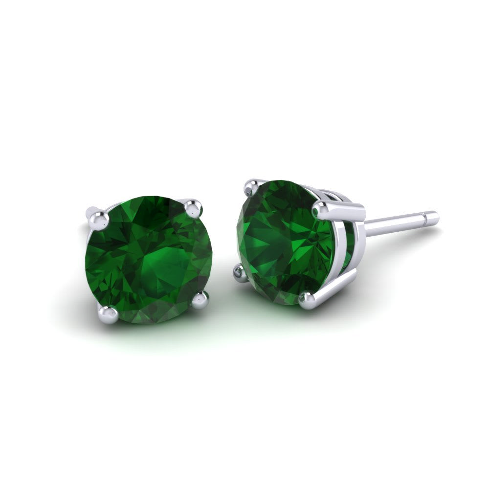 Emerald Earrings Louisa