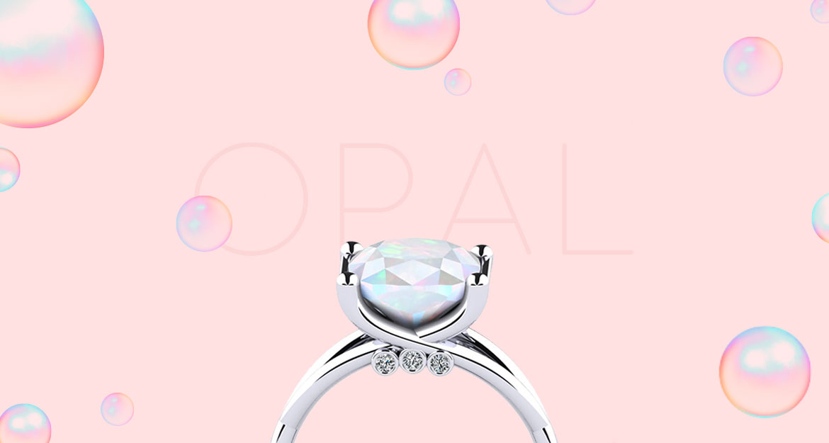 Opal Gemstone Ring