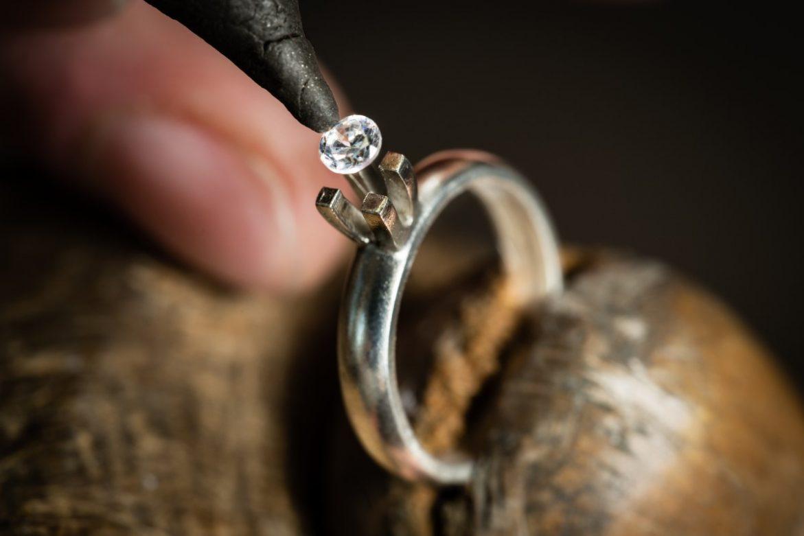 Raw diamond process