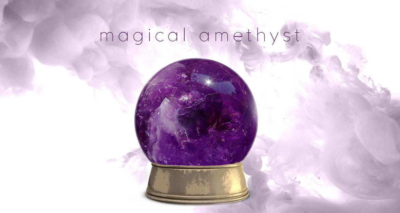 Magical Amethyst Gemstone