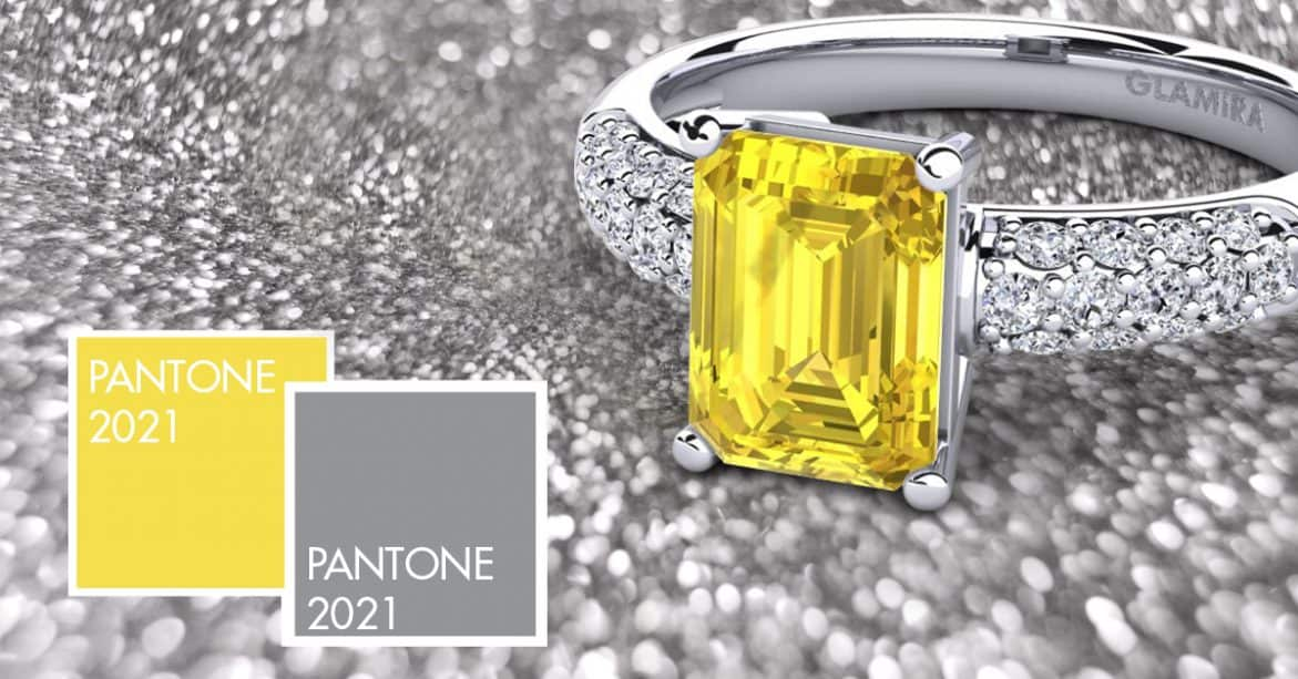 PANTONE 2021: MARRIAGE OF TWO COLORS